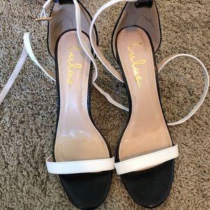 Lulu's strappy heels